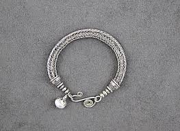 custom silver jewelry jewelry custom viking knit bracelet sterling silver original