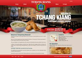 chinese restaurant website design by inspectoratul on deviantart