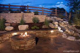 Fire Pit Backyard 30 Red Ideas For Your Backyard Fire Pit Design