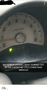engine light turned on 2 0 my check engine light turned ofpf after 3 months its a