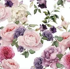 Pink Removable Wallpaper by Watercolor Floral Wallpaper Pink Roses Removable Wallpaper