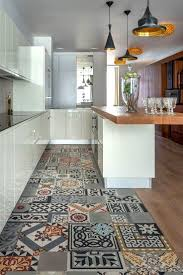 kitchen flooring ideas to give your scheme a new look unusual tile