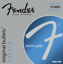 light electric guitar strings fender 3150xl pure nickel bullet ends electric guitar strings