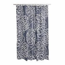 Marimekko Shower Curtains Marimekko Bottna Slate Cotton Shower Curtain Marimekko Shower