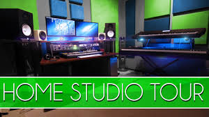 studio tour how to build a home studio youtube