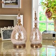 Decorating Items For Living Room by European Home Decoration Items Colored Glass Bottle Flower Vase