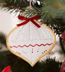 clay cookie ornaments from better homes and gardens