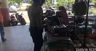 anggota sat sabhara res kotabaru laksanakan patroli dialogis dan