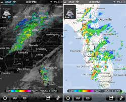 Radar Map Weather Weather Radar Gains New Map Data And Iphone 5 Support