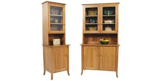 Hutch Furniture Dining Room Circle Furniture Small Flare Leg Buffet And Hutch Dining