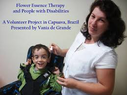 Cosmos Flower Essence - flower essence therapy and people with disabilities a volunteer