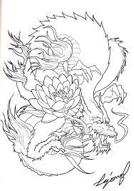 amazing colored japanese dragon tattoo design tattooimages biz