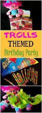 plan a trolls themed birthday party