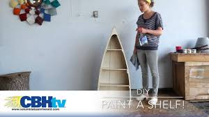 we painted a boat shelf youtube