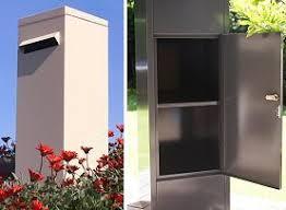 kelman pillar freestanding letterboxes security letterbox post