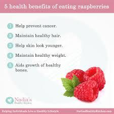 five health benefits of eating raspberries uk health blog