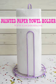 painted paper towel holder jaderbomb