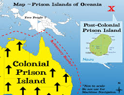 Map Of Oceania Prison Islands Of Oceania 2015 Glitch Net Au