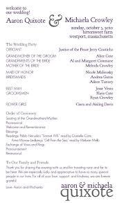 one page wedding programs custom printables september 2010