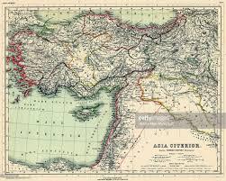 Historic Map Works Europe Africa Asia Egypt Libya Iraq Israel Jordania Lebanon Syria