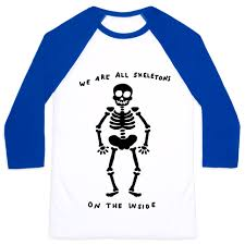 Meme Tees - skeleton meme baseball tees lookhuman
