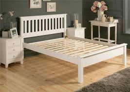 Double Bed Frames For Sale Australia Shaker White Wooden Double Bed Frame Lfe Painted Wood Wooden