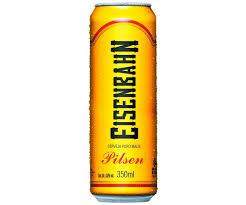 Super Cerveja Eisenbahn Pilsen LATA - 350ml - CervejaStore @AI95