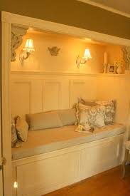 a repurposed closet now used as a reading nook or even a child s small rooms