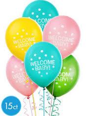baby shower balloons baby shower balloons balloon decorations party city