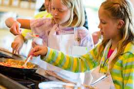 classes and camps kids kitchen