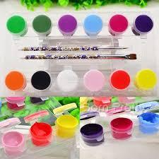 12 colors 3d nail art acrylic paint end 6 28 2018 8 15 pm