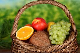 basket of fruits basket of fruits