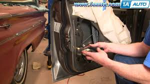 how to install replace power door lock actuator mercury grand