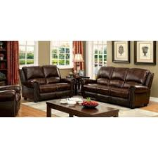 wood trim sofa leather sofa with wood trim and nail heads