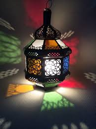 luxurious crystal shades moroccan lamps design with cooper