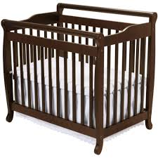 furniture baby crib with changing table attached mini baby