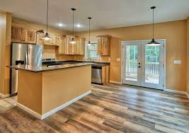 what color flooring looks with cabinets what flooring goes with hickory cabinets designing idea