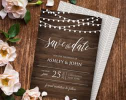 Rustic Save The Date Save The Date Wedding Invitations U2013 Gangcraft Net