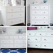 great white dresser and nightstand jeslyn 3 drawer white