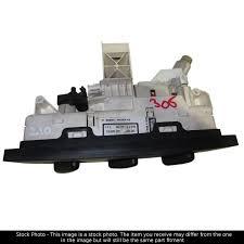 vauxhall algeria vauxhall combo mk ii corsa c heater control panel heated rear