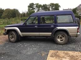 nissan safari pick up nissan patrol hitop safari 1997 4x4 in kelso scottish borders