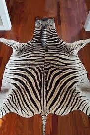 Genuine Zebra Rug Felted Trophy Zebra Skin Rug Products