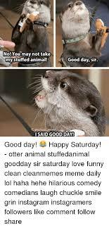 Good Day Sir Meme - no you may not take good day sir my stuffed animal i said good