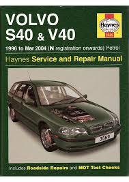 sam naprawiam volvo s40 v40 1996 2004 haynes eng pobierz pdf z