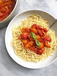 fresh tomato pasta sauce u2013 plant based jane