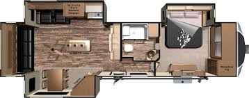2 bedroom 5th wheel floor plans inspirations including th picture