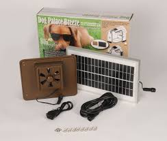 Doghouse For Large Dogs Doghouse Exhaust Fans Insulated Doghouses By Asl Solutions Inc