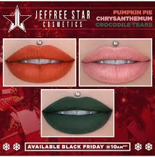 best black friday lipstick deals jeffree star cosmetics announces black friday cyber monday deals
