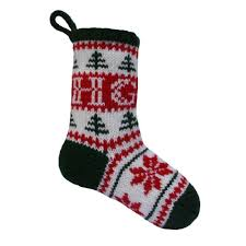 knitting pattern for christmas stocking free personalised christmas stocking knitting pattern by knitables