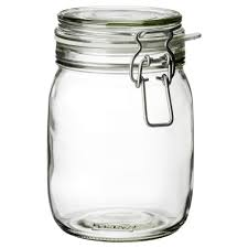 Kitchen Glass Canisters With Lids by Korken Jar With Lid Ikea